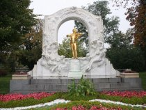 Wiedeń pomnik Straussa